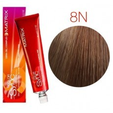 Matrix Color Sync: Neutral 8N светлый блондин натуральный, крем-краска без аммиака, 90мл