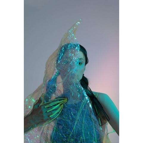 Onoma Варежки с неоновой вышивкой короткие