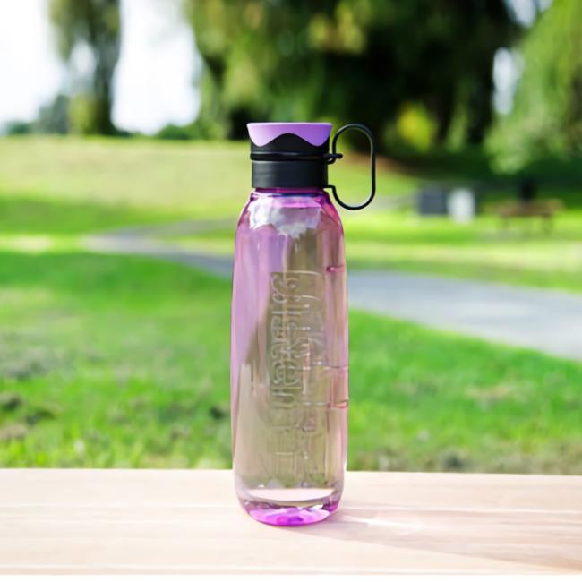 """Бутылка для воды с петелькой Sistema """"Hydrate"""", Тритан, 850 мл, цвет Фиолетовый"""