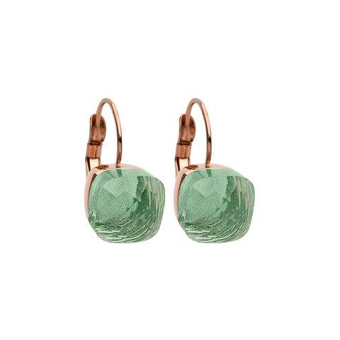 Серьги Firenze chrysolite 304035 G/RG