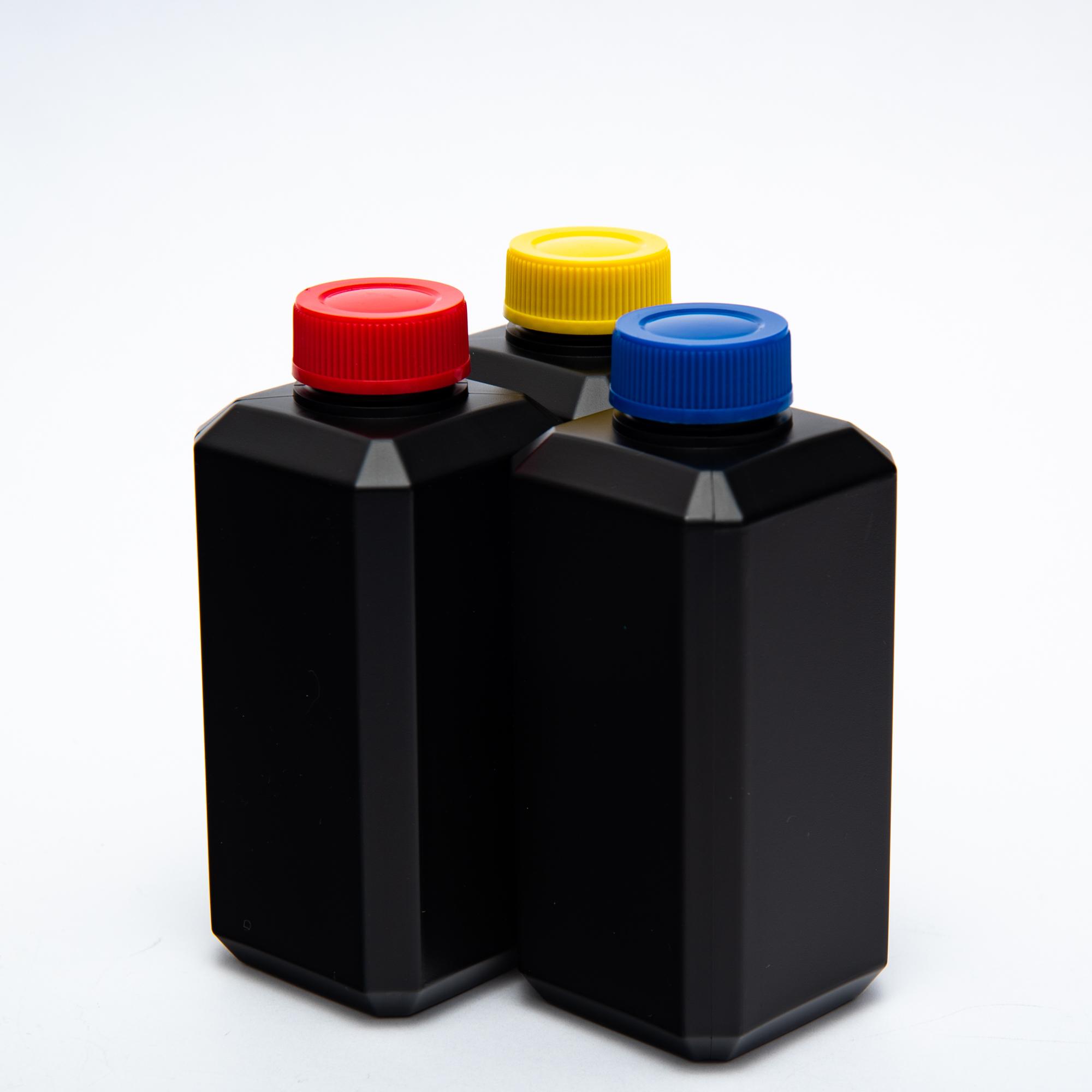 Бутыль для реактивов, 250 мл, черная