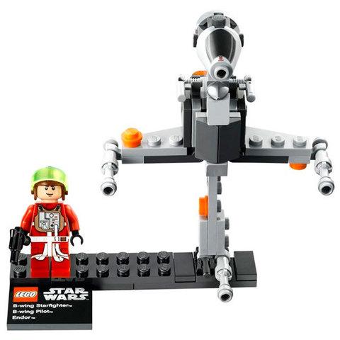 LEGO Star Wars: Истребитель B-wing и планета Эндор 75010 — B-Wing Starfighter & Planet Endor — Лего Звездные войны Стар Ворз
