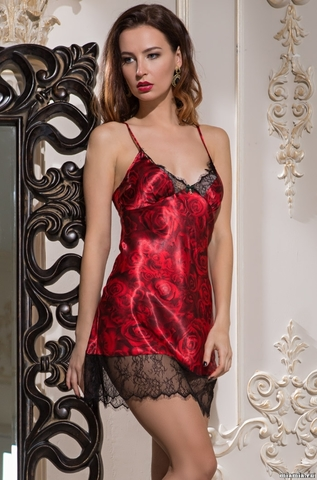 Короткая сорочка Mia-Amore 3164 CARMEN (70% шелк)