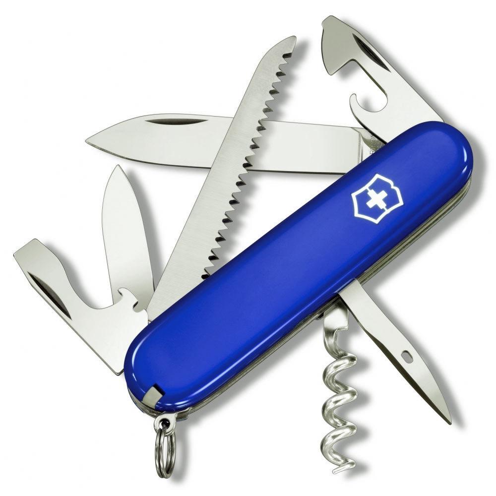 Складной нож Victorinox Camper Blue (1.3613.7R) 91 мм., 13 функций, цвет синий