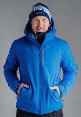 Утеплённая прогулочная лыжная куртка Nordski Montana Blue мужская