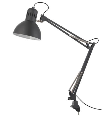 Лампа TERTIAL тёмно-серая