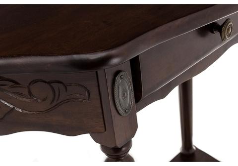 Стол деревянный кухонный, обеденный, для гостиной Консоль Console oak 79*79*80
