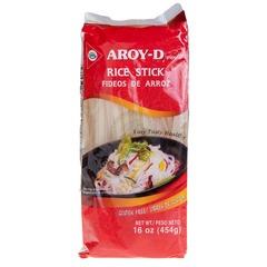 Лапша рисовая 5 мм AROY-D 454 гр.