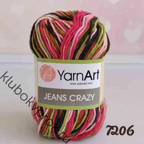 YARNART JEANS CRAZY 7206,