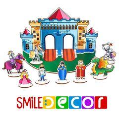 Рыцарский замок Smile Decor П1008  Кукольный театр