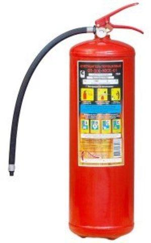 Порошковый огнетушитель ОП-8 (З) АВСЕ