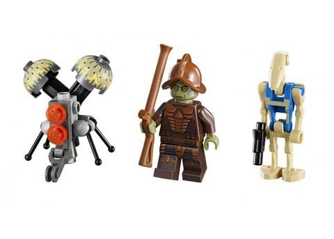 LEGO Star Wars: Дроид Стервятник 75041 — Vulture Droid — Лего Звездные войны Стар Ворз