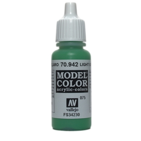 Model Color Light Green 17 ml.