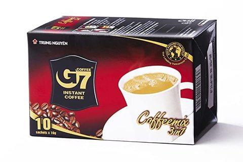 Растворимый кофе 3в1 Trung Nguyen. Коробка 48х10 штук.