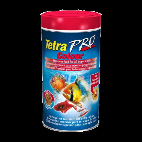 TetraPro Colour Сухой корм для декоративных рыб для придания дополнительной окраски чипсы