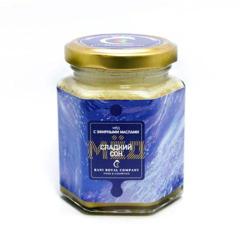 Мёд с эфирными маслами «Сладкий сон» 240 г