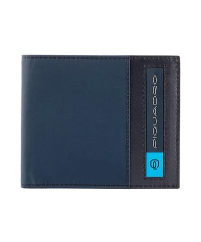 Кошелек Piquadro Bios, синий, 11x9x1,5 см