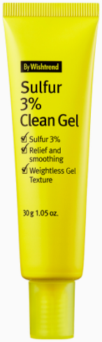 By Wishtrend Sulfur 3% Clean Gel гель против акне 30г