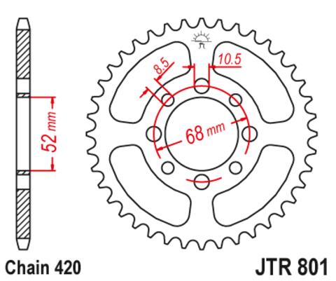 JTR801