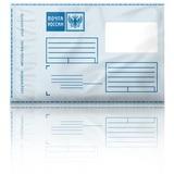 Почтовый пластиковый конверт