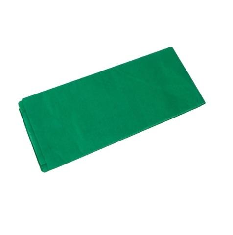 Бумага тишью 10 шт., 50x66 см, цвет: зеленый