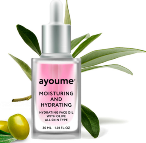 AYOUME Масло для лица увлажняющее AYOUME Moisturing-&-Hydrating Face oil with Olive 30мл