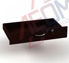 Я-1 Ящик с замок для прилавков  ПР-30/31/35/36/37 с роликовыми направляющими