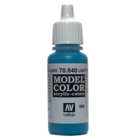 Model Color Light Turquoise 17 ml.