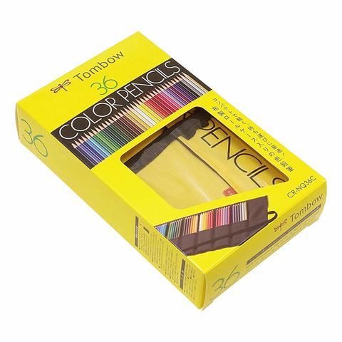 Цветные карандаши Tombow Color Pencil (36 шт - пенал)