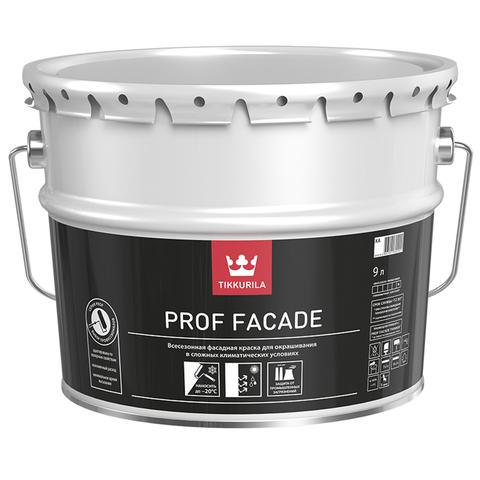Tikkurila Euro Prof Facade / Тиккурила Евро Проф Фасад всесезонная фасадная краска