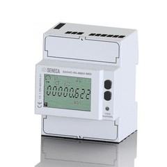 Счетчик энергии 1 / 5A 3-фазный 3/4 провода 4 DIN-MBus, MID сертификат