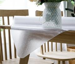 Рифленое гибкое стекло на стол