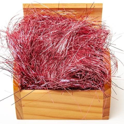 Наполнитель фольга, Дождик, Розовый гранат, 10 гр