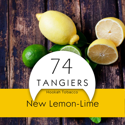 Табак Tangiers Noir Lemon Lime 100 г