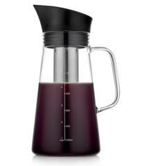 Чайник-кофейник 1200 мл, стеклянный