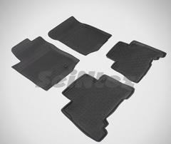 Резиновые коврики для LC PRADO-150, высокий борт