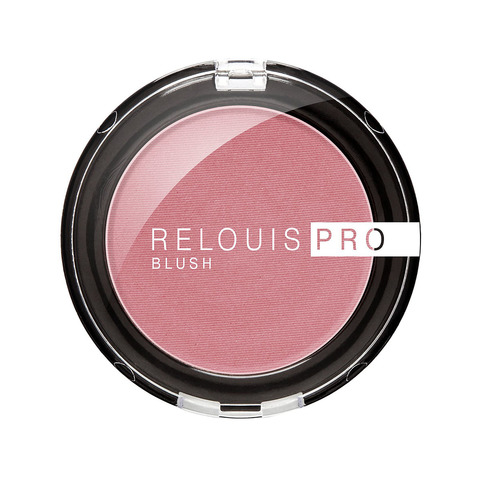 Румяна компактные Relouis Pro Blush тон 74 Lilac Bunch