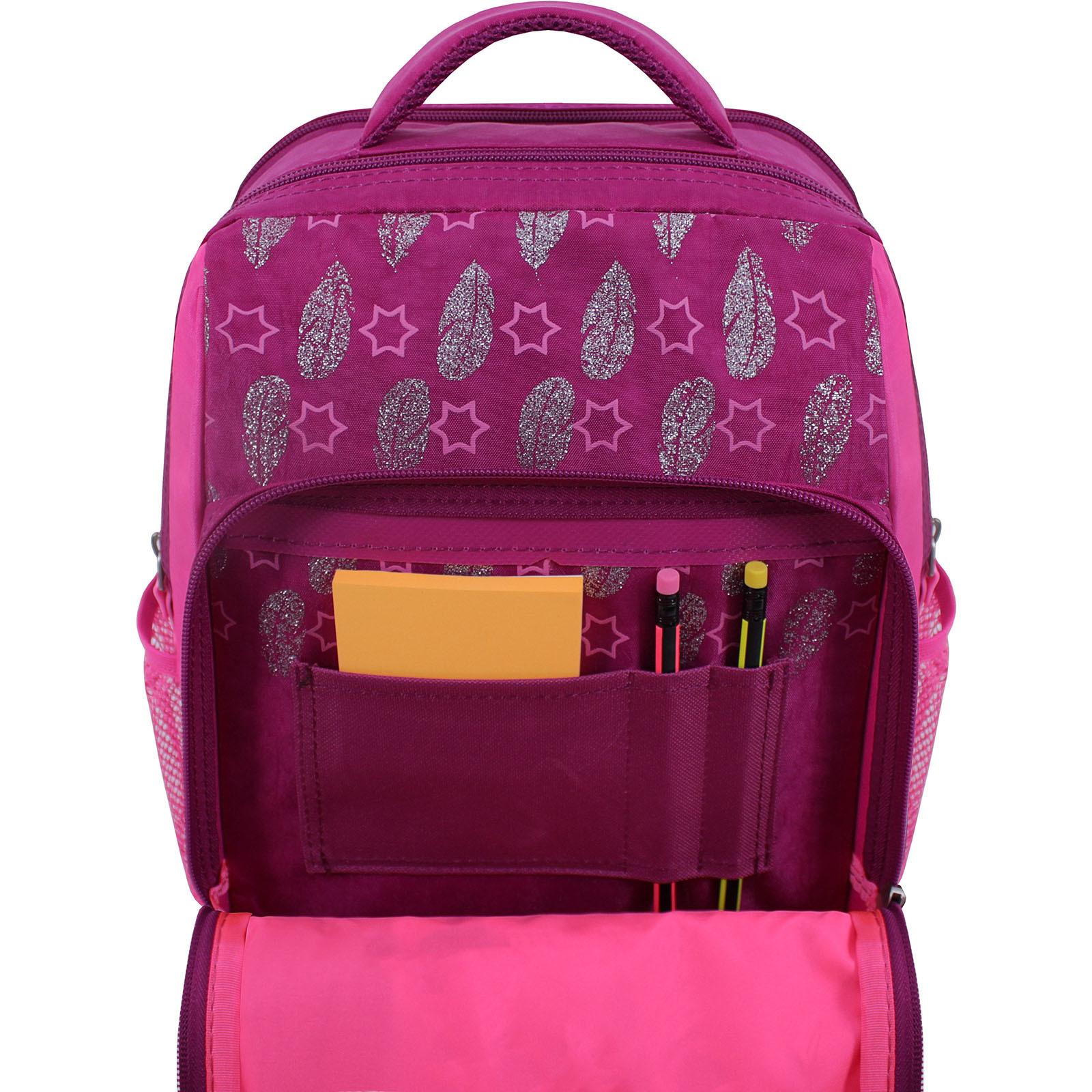 Рюкзак школьный Bagland Школьник 8 л. 143 малина 514 (00112702) фото 4
