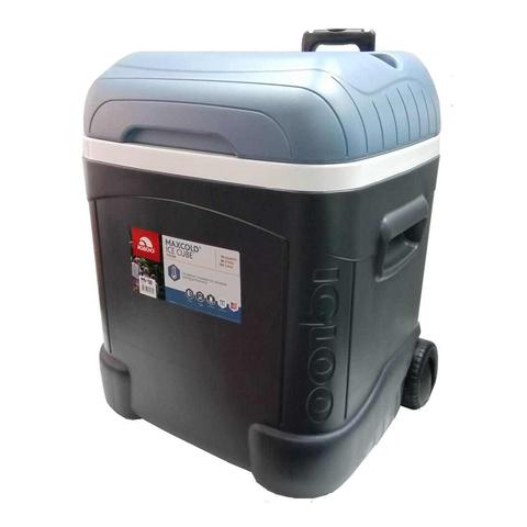 Изотермический контейнер (термобокс) Igloo Maxcold Cube 70 Roller Jet (66 л.), черный