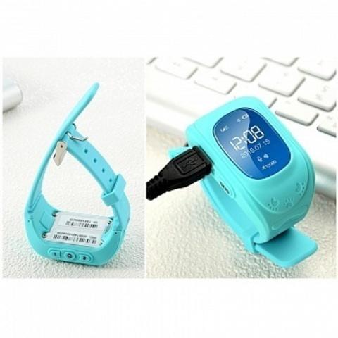 Детские часы Smart Baby Watch Q50 Blue Голубые