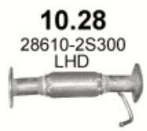 глушитель Kia Sportage/ Hyundai ix35 1.6 GDi