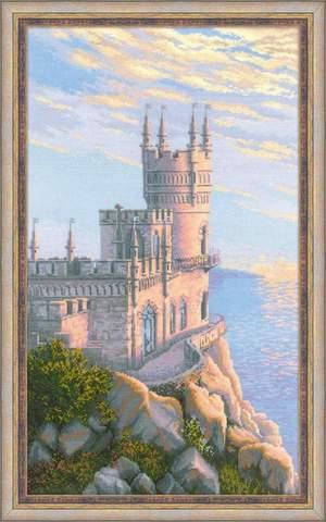 Набор для вышивания крестом «Ласточкино гнездо» (1645)