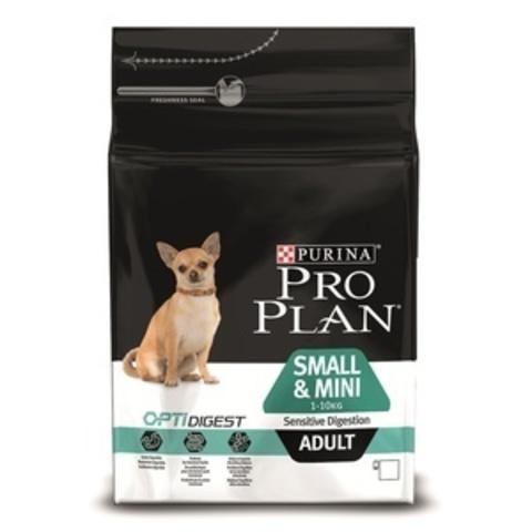 Small & Mini Adult Sensitive Digestion - для взрослых собак малых пород с чувствительным пищеварением, ягненок