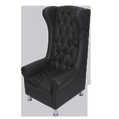 Педикюрное кресло Трон цвет черный