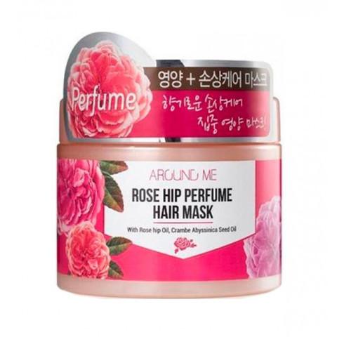 ВЛК Rose Маска для поврежденных волос Around me Rose Hip Perfume Hair Mask 300гр (10702070/200619/01