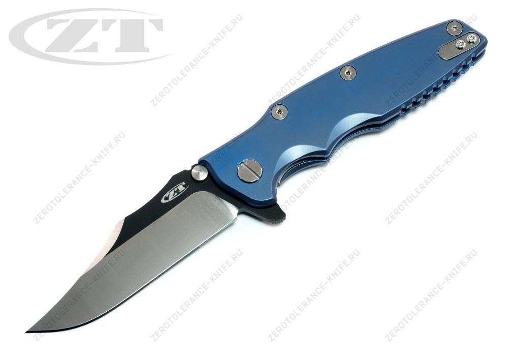 Нож Zero Tolerance 0392BLUBOWIE Hinderer