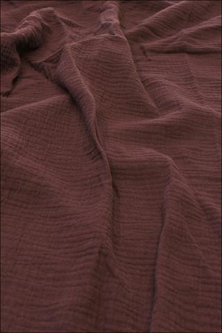 Ткань муслиновая,темное бордо