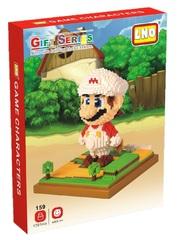Конструктор LNO Супер Марио Белый 1701 деталь NO. 159 Super Mario White Gift Series