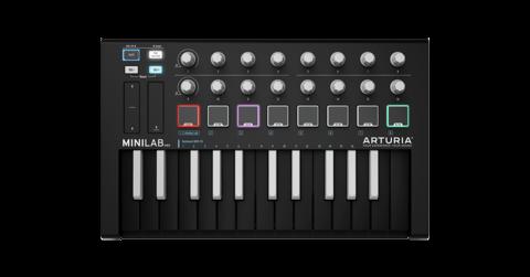 MIDI-клавиатура/Контроллер Arturia MiniLab MKII Inverted
