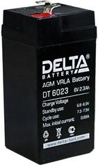 Аккумулятор Delta 6В 2,3-2,5 А\Ч